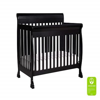 DaVinci Kalani 4-in-1 Convertible Crib, Ebony