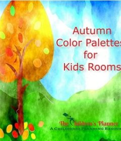 fall colors palettes