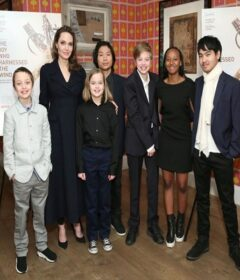 Angelia Jolie and Kids
