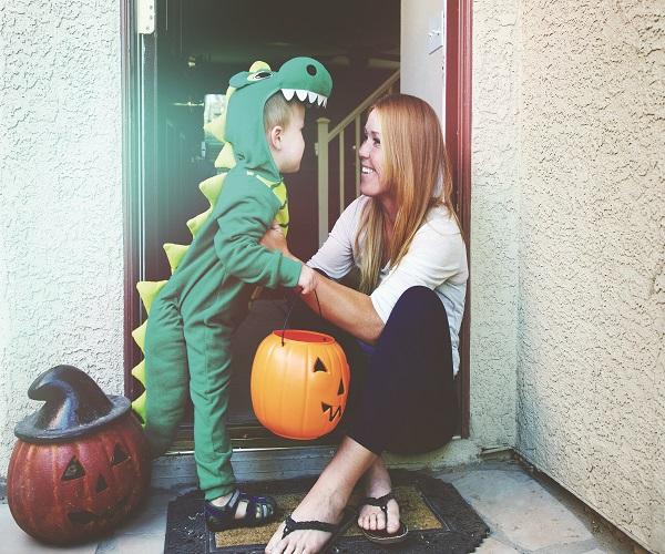 Single Mom Halloween