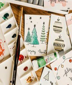 Christmas Card Making Supplies