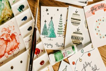 Christmas Card Making Supplies