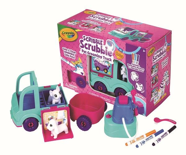 Crayola Scrubbie Pets Grooming Truck