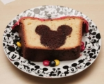 Disney Vanilla and Chocolate Cake