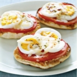 English Muffin Egg Pizzas