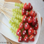 Fruit Caterpillar Kabobs