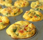 Scrambled Egg Breakfast Muffins